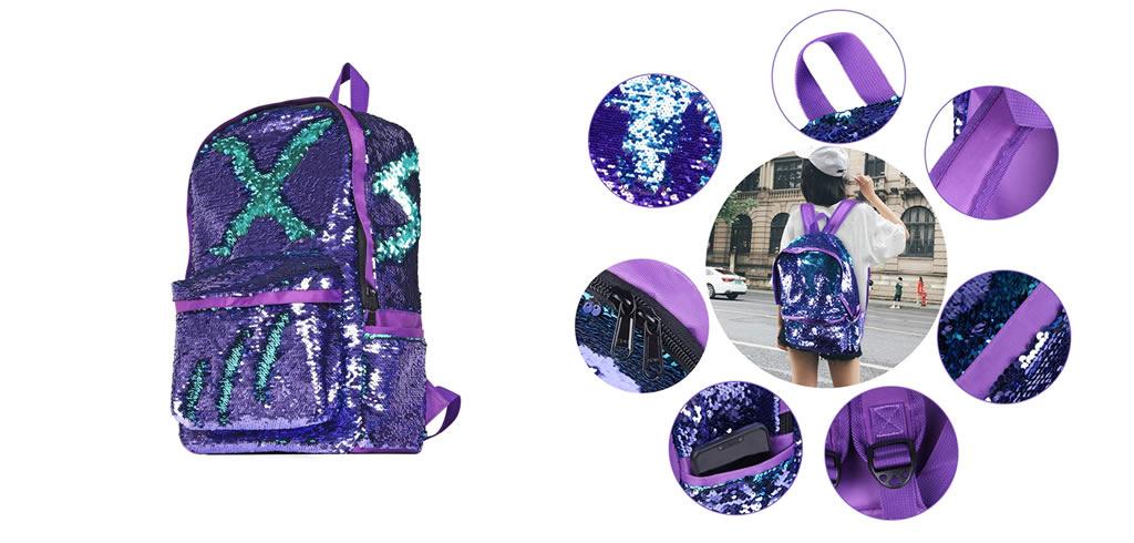 mochilas que cambian de color